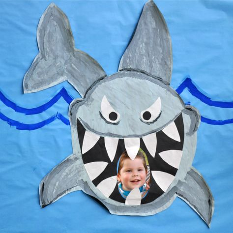 How to throw a sharktastic birthday party!