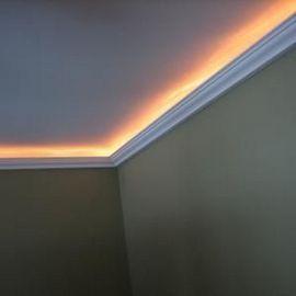 85 Diy Rec Room Basement Ideas Jenny Decor Rope Light Indirect Lighting Home Theater Rooms