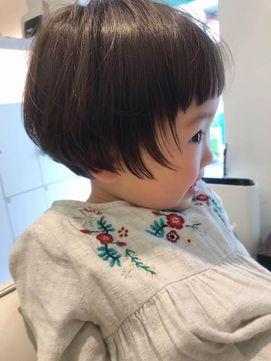 キッズヘア ショートボブ ミニボブ キッズカット女の子 Terra By