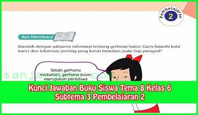 Kunci Jawaban Tema 8 Kelas 6 Halaman 102 104 106 107 Buku Kunci Belajar