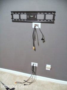 Cover Cables From Wall Mounted Tv Wall Mounted Tv Home Decor