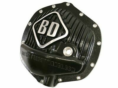 Proform 69501 Black Aluminum Differential Cover with Perfect Launch Logo and 8.8 Bearing Cap Stabilizer Bolts for Ford