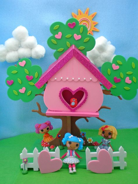 """""""I have a major addiction to the little foam sets they sell at Michaels craft stores and they are the perfect size for the tiny Lalas :)"""" #Lalaloopsy"""