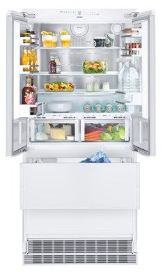 HCB 2082 Integrable fridge-freezer with BioFresh and NoFrost