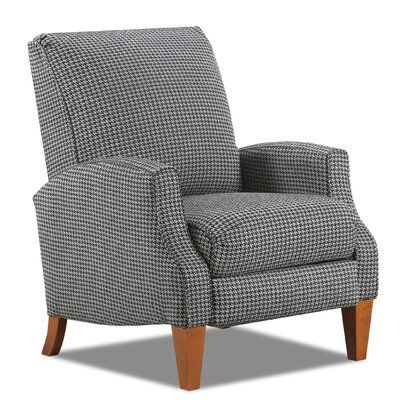 Red Houndstooth Recliner So Cute Not Your Dad S Recliner