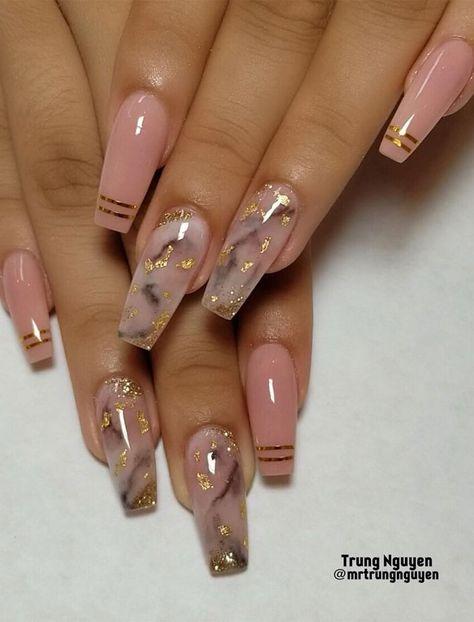 40 Fabulous Nail Designs That Are Totally in Season Right Now - clear nail art designs,almond nail art design, acrylic nail art, nail designs with glitter #nail #nailart #acrylic
