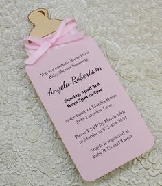 create a baby shower invite