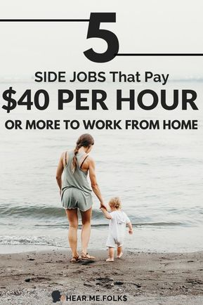 5 Real Work from Home Jobs to Make Up to $47/hr