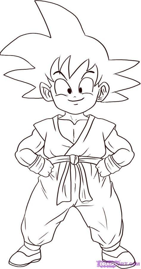 Dibujos Para Colorear De Goku 2 Kolorowanka Rysunki