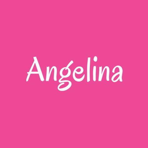 Angelina - Cool Baby Names That Aren't Super Popular - Photos