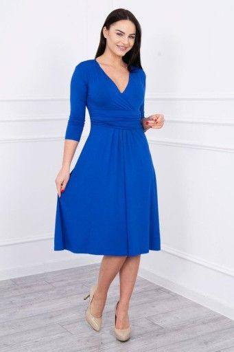 Sukienka Ciazowa Rozkloszowana Rekaw 3 4 M Dresses Fashion Dresses For Work