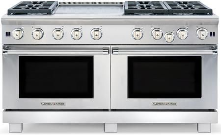Arrob 6602gdn 60 Performer Series Natural Gas Range With 6 Open Burners 24 Griddle Double Oven Oven Cleaning Oven Racks