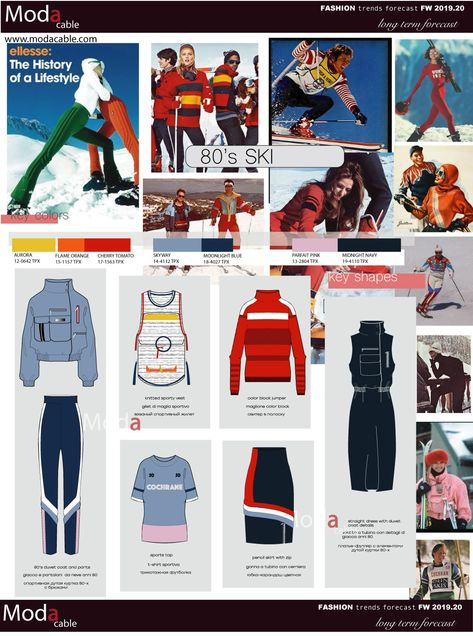FW 2019.20 trend 80's ski only at www.modacable.com