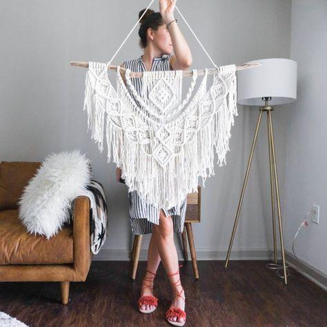 Dope Rope Large Macrame Wall Hanging / tapestry / macrame | Etsy