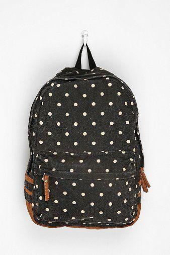 polka dot backpack ++ carrot