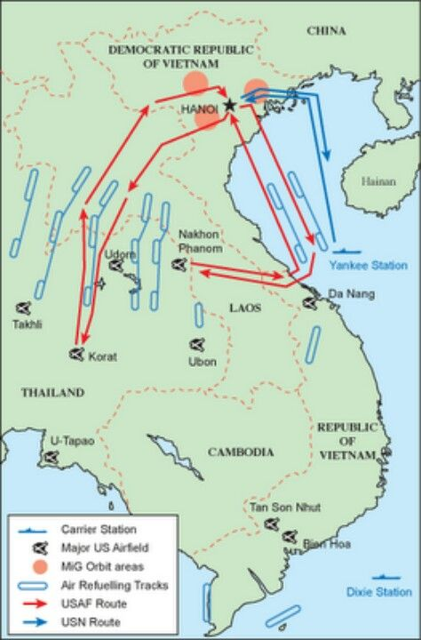 USS America area of operation