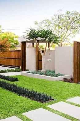 Simple And Cheap Modern Landscape Design For Garden Ideas 50 Front Yard Landscaping Design Modern Landscaping Modern Landscape Design
