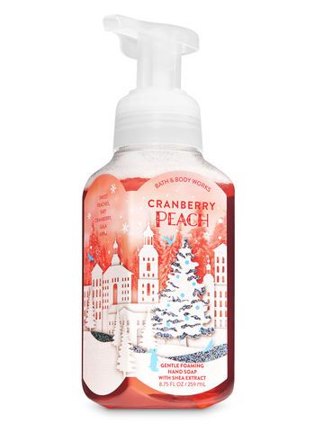 Cranberry Peach Gentle Foaming Hand Soap Bath And Body Works