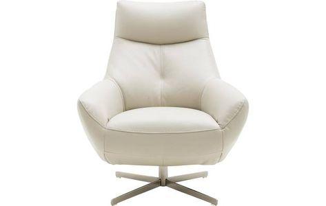 Egg Chair Kopen.Draaifauteuil Noah Wit Leer 8171200 02 Tessaas Tips Voor Loes En