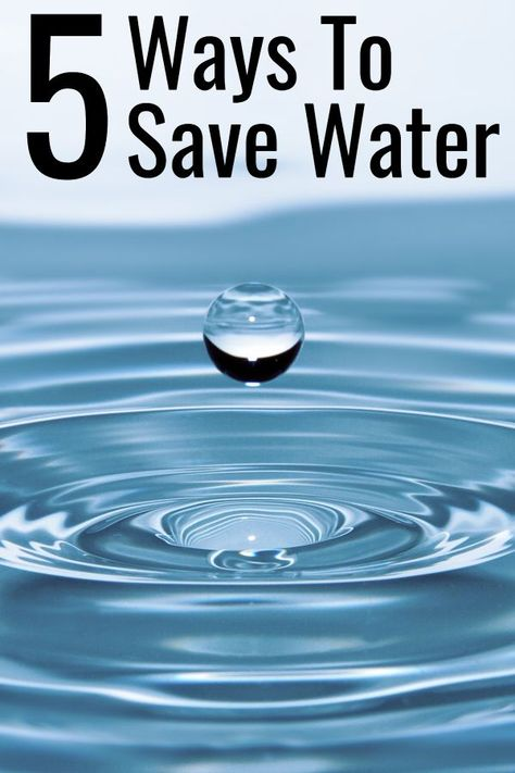 Creative Ways To Save Water At Home Ways To Save Water Save