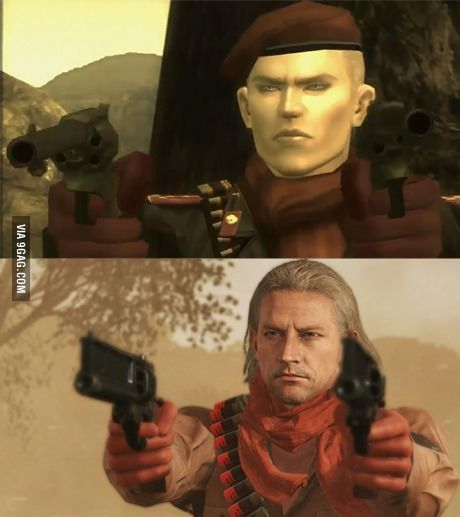 Image result for Revolver ocelot through the years