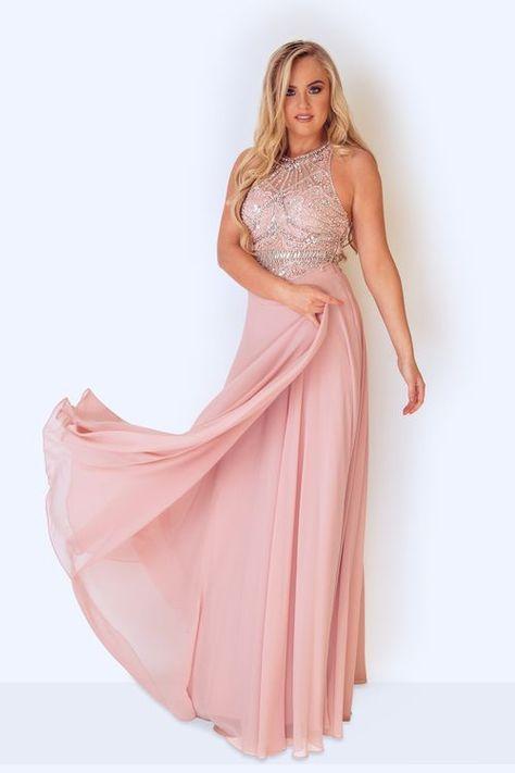 glamouröses abendkleid aus der kollektion 2018 von dynasty