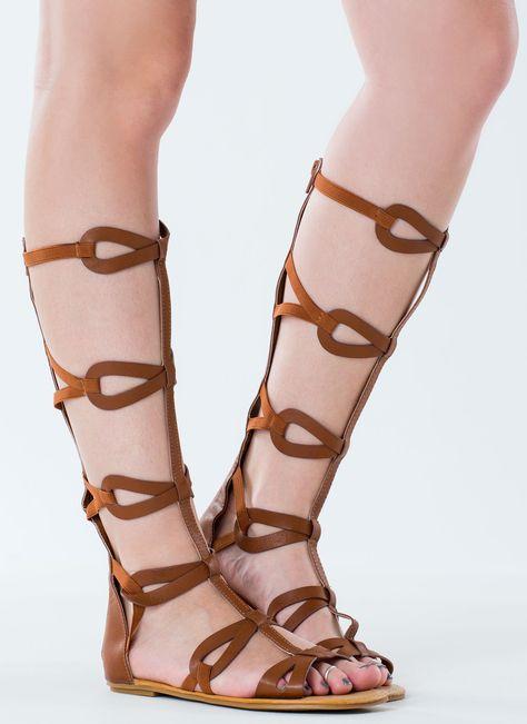 48d559e8ebe0 Figure Eight Gladiator Sandals WHITE TAN BLACK - GoJane.com ...