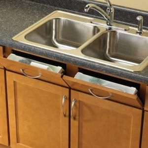 Rev A Shelf Kitchen Sink Front Tray Tip Out Hinges Cabinet Storage Organizer New