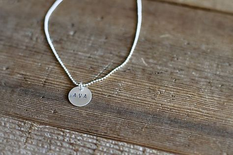 DIY Hand Stamped Metal (Easy gifts and fun!)  via lilblueboo.com