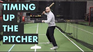 Video Timing Up Pitchers Properly Hitting Tips With Lucas Cook With Images Baseball Drills