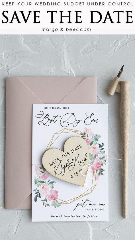 Pastel pink #savethedate #savethedateideas #weddinginvitations #pastepinkwedding #geometricwedding