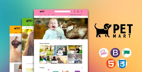Petmart Responsive Shopify Theme Shopify Theme Pet Mart Pet Vet