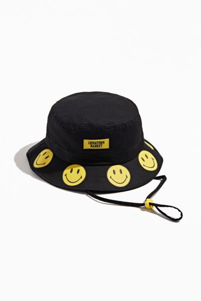 Chinatown Market X Smiley Uo Exclusive Bucket Hat In 2021 Hats Bucket Hat Chinatown