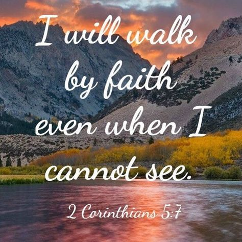 I will walk by faith... @BibleQuote365 #BibleQuote365 #quote #positive #bible #quotes #love #God #hope #faith #peace #blessed #pray #inspiration #motivation #life #joy #bibleverse #happy #bible study #bibleverses #quotestoliveby #biblequotes #god #happiness