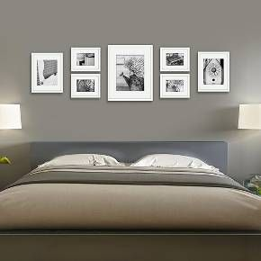 Gallery Solutions 7 Piece Wall Frame Set Frames On Wall Wall Frame Set Photo Frame Wall
