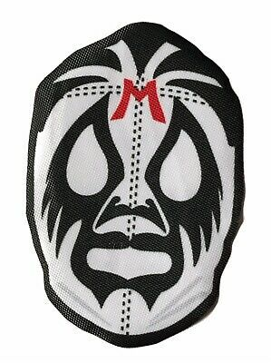 Mexican Wrestler Blue Mask Patch Lucha Libre Patches