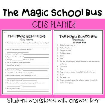 The Magic School Bus Gets Planted Magic School Bus Magic School