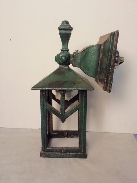 Craftsman Outdoor Lantern Cast Iron Wall Sconce