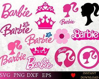 Barbie Alphabet Font Clipart Barbie Letters Barbie Numbers Etsy Alphabet And Numbers Lettering Fonts Barbie