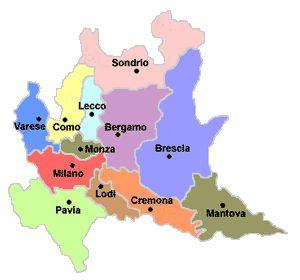 Cartina Fisica E Politica Della Lombardia.Cartina Regioni Italia Ripassa Con Noi La Geografia Mappe Illustrate Geografia Mappa Dell Italia