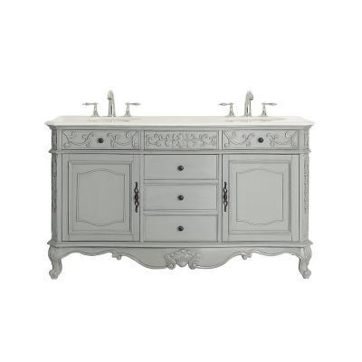 Home Decorators Collection Winslow 60 In W X 22 In D Vanity In