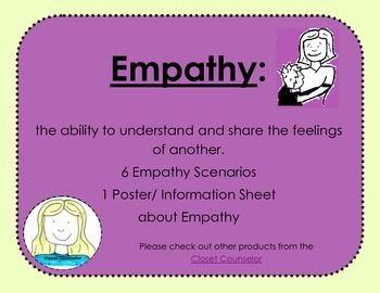 Empathy Scenarios | Speech language pathology | Social skills games