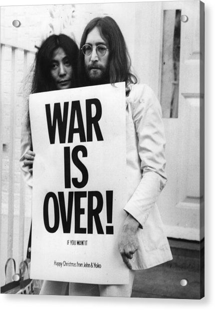 Entertainment Memorabilia Photographs Entertainment Memorabilia John Lennon Yoko Ono Bed Peace 24x36 Poster Print Zsco Iq