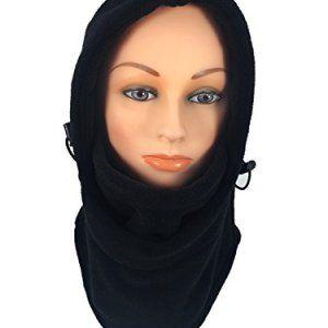 Howriis Unisex Lycra Spandex Open Eyes and Mouth Balaclava Zentai Hood Mask