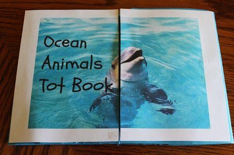 Ocean Animals Tot Book