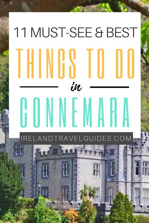 THINGS TO DO IN CONNEMARA, IRELAND
