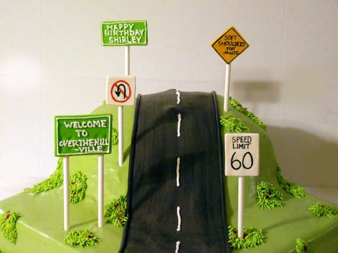 The Flour Shop: Over the Hill Cake