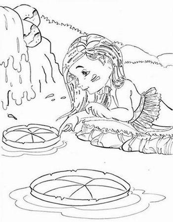 Vitoria Regia Desenho Folclore Folclore Lendas