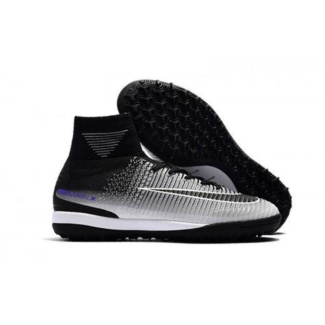 Nike MercurialX Proximo II DF TF Svarta Grå Billiga