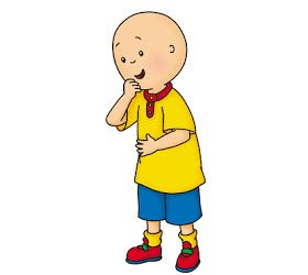 Cartoon Characters Caillou Caillou Old Kids Shows Cailou